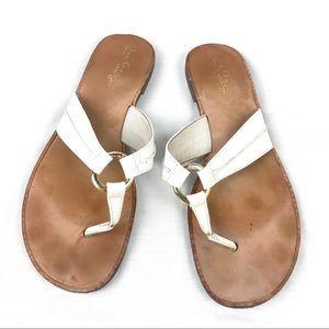 Lily Pulitzer Mckim Leather Sandals